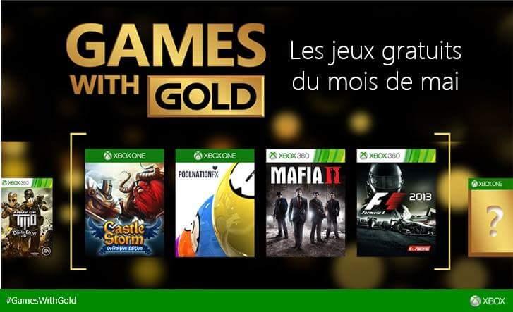 Xbox live games with gold les jeux gratuits de mai 2015 annonc s - La xbox one lit elle les jeux xbox 360 ...